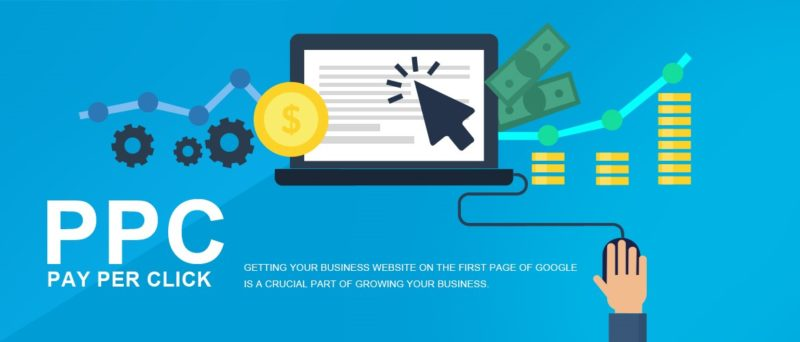 Pay per click getting your business in first page of google
